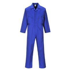 Kombinezon roboczy PORTWEST Liverpool C813 Niebieski ochronny roboczy kombinezon jednoczęściowy niebieski 8 kieszeni przemysłowy