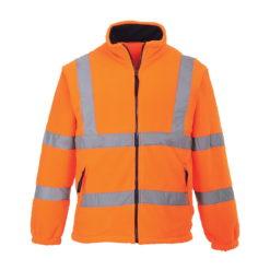 Bluza polarowa ostrzegawcza PORTWEST F300 Pomarańczowa drogowa ochronna odblaskowa polar 3 klasa widzialności
