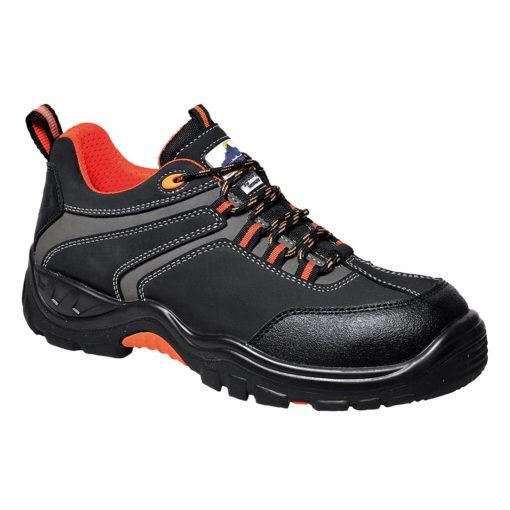 Półbuty robocze PORTWEST Compositelite Operis S3 HRO pomarańczowe czarne bezpieczne robocze ochronne buty obuwie podnosek antyprzebiciowe
