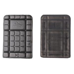 Nakolanniki Portwest KP44 Ochraniacze Kolan CE ochronniki kolanowe z pianki eva czarne podzielone do kieszeni spodni miękkie zdjęcie przód tył