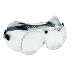 gogle ochronne portwest PW20 klasy b mocne okulary na gumkę do pracy bhp przeciwodpryskowe przezroczyste z gumką wentylowane