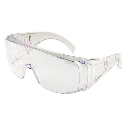 okulary ochronne portwest visitor pw30 robocze przezroczyste gogle plastikowe filtr uv składane
