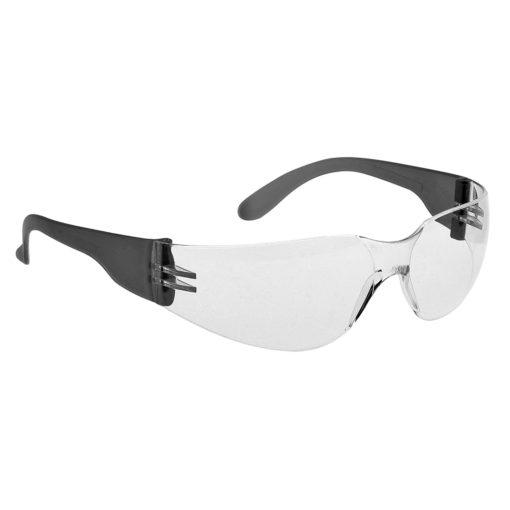 konturowe okulary ochronne portwest pw32 bhp do pracy czarne