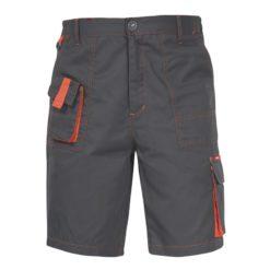 Spodnie robocze krótkie Lahti PRO LPAS1 Allton do kolan z kieszeniami do pracy bhp odporne ciuchy robocze spodenki przód