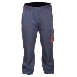 spodnie ochronne LAHTI PRO LPAS allton spodnie do pasa w pas robocze ochronne do pracy bhp mocne grafitowo szare z pomarańczowymi wstawkami do pracy