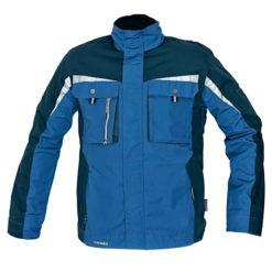kurtka robocza allyn z odblaskami 3m do pracy ochronna. niebieska czarna
