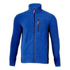 Bluza polarowa Lahti PRO LPBP2 Niebieska rozm. S-3XL polar roboczy ochronny niebieski z przodu