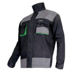 Bluza robocza Lahti PRO L40407 ochronna do pracy bhp system sklep internetowy czarno szara zielona wygodna mocna wytrzymała długi rękaw odporna dla pracowników uniform lahti
