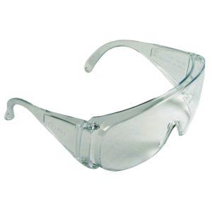 Okulary Ochronne Cerva Basic przezroczyste proste tanie okulary robocze