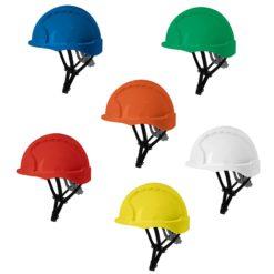 Hełm do pracy na wysokości JSP Evo3 Linesman SR żółty niebieski zielony biały czerwony pomarańczowy kaski budowlane hełmy ochronne praca ryzyko hełm bhp alpnizm przemysłowy
