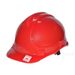 Kask przemysłowy Lahti PRO L1040106 czerwony kask hełm ochronny roboczy na budowę budowlany do pracy bhp twardy en 397 hełm dla budowlańca dla gościa praktykanta Kask przemysłowy Lahti PRO L1040202 czerwony