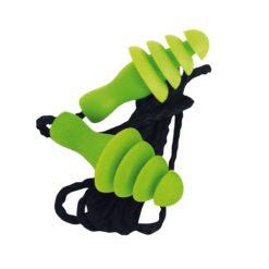 Zatyczki Ear Defender ED 4Fit z Pudełkiem SRC 30 dB zielone stopery przeciwhałasowe ochronniki słuchu na sznurku