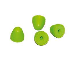 Zatyczki Końcówki wymienne do ED Artiflex DS 10 par zielone seledynowe