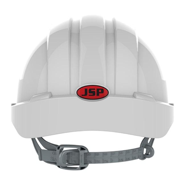 004e16d6652960 ... Kask hełm JSP evo2 biały hdpe z regulacją onetouch wentylowany dla kask  budowlany dla kierownika budowy
