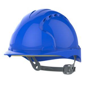 a34ffbe53783ce Kask hełm JSP evo2 niebieski hdpe z regulacją onetouch wentylowany dla kask  budowlany dla operatora maszyn