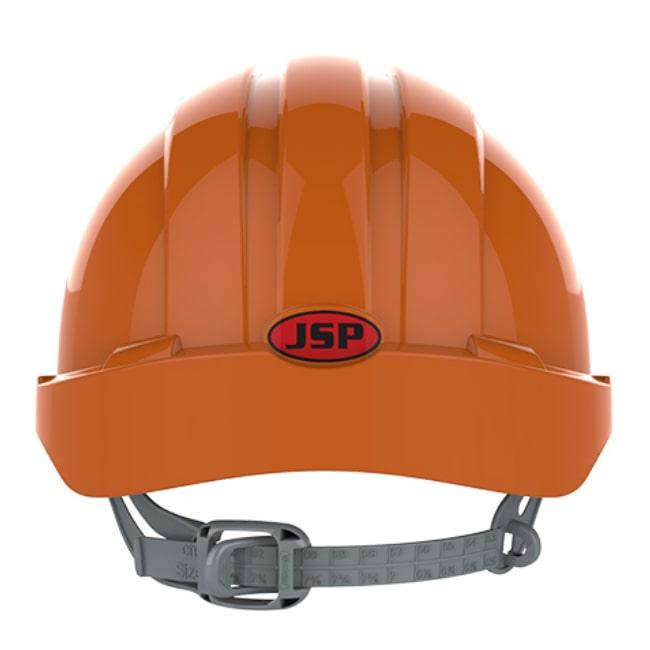 411b09d31aca6f ... Kask hełm JSP evo2 pomarańczowy hdpe z regulacją onetouch wentylowany  dla kask budowlany dla geodety Kask