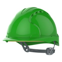 Kask hełm JSP evo2 zielony hdpe z regulacją onetouch wentylowany dla kask budowlany dla inspektora bhp Kask hełm JSP evo3 zielony przemysłowy