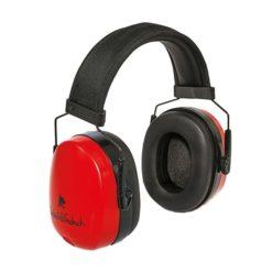 Nauszniki przeciwhałasowe FF GS-01-002 SRC 32 dB ochronniki słuchu robocze czerwone