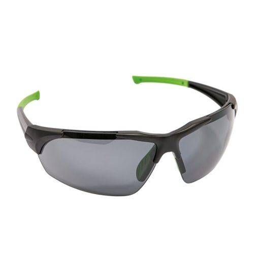 Okulary Ochronne Polaryzacyjne iSpector Halton f1 polaryzacyjne szkła z poliwęglanu czarno zielona ramka i ramiona