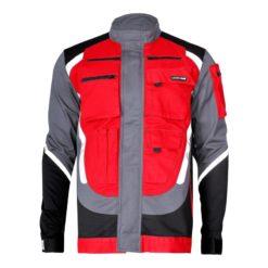 Bluza Lahti PRO L40406 z Pasami Odblaskowymi bluza robocza ochronna dopracy bhp z pasami odblaskowymi czerwona czarna szara