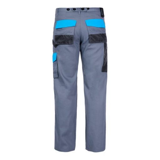 Spodnie Lahti PRO L40504 do pasa robocze w pas monterskie do pracy bhp ochronne kieszenie na nakolanniki tył