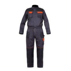 kombinezon lahti pro l41501 kombinezon roboczy strój jednoczęściowy do pracy bhp ciemny