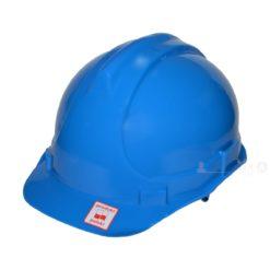 Kask przemysłowy Lahti PRO L1040203 niebieski kask hełm ochronny roboczy na budowę budowlany do pracy bhp twardy en 397 hełm dla budowlańca dla operatora maszyn elektryka Kask przemysłowy Lahti PRO L1040101 Niebieski
