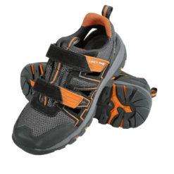 Robocze Sandały Lahti PRO L30606 Bez Podnoska O1 oba buty prezentacja obuwie ochronne zawodowe