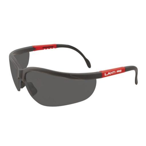 Okulary ochronne przyciemniane Lahti PRO 46035,okulary ochronne, okulary robocze, okulary bhp, Lahti PRO, proline, norma ft, przeciwolśnieniowe, przeciwsłoneczne