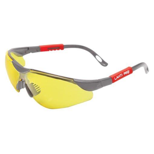 Okulary Ochronne Żółte Lahti PRO 46051 F,okulary ochronne, okulary robocze, okulary bhp, Lahti PRO, proline, przeciwsłoneczne, filtr uv, okulary z filtrem uv
