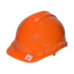 Kask przemysłowy Lahti PRO L1040204 pomarańczowy kask hełm ochronny roboczy na budowę budowlany do pracy bhp twardy en 397 hełm dla budowlańca pomarańczowy Kask przemysłowy Lahti PRO L1040103 pomarańczowy