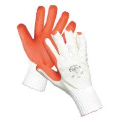 Rękawice robocze Redwing Nasączone i Powlekane Lateksem czerwone odporne wytrzymałe en388