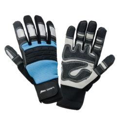 rękawice robocze Lahti pro l2807 warsztatowe premium wysokiej jakości ochronne rękawiczki do pracy odblaskowe obie
