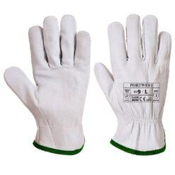 Rękawice robocze skórzane Portwest A260 do pracy ochronne skórkowe skórzane bhp sklep system internetowy delikatne wytrzymałe miękkie białe