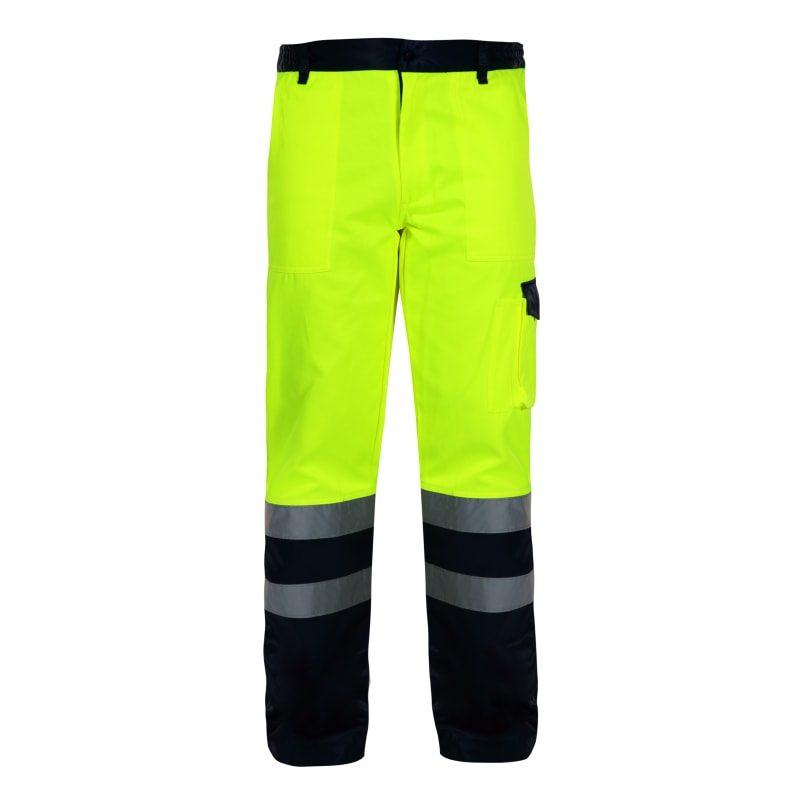 d33a86d148b0f8 Spodnie Ostrzegawcze Żółte Lahti PRO L41004 EN 20471