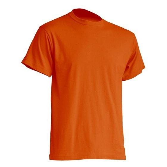 0db050622aa370 Mocna koszulka T-Shirt JHK TSRA Pomarańczowa do nadruku XS-2XL