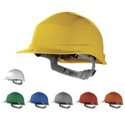 kask Hełm ochronny zircon I delta plus budowlany przemysłowy do pracy kask robotniczy bhp en397 atest ce zgodności