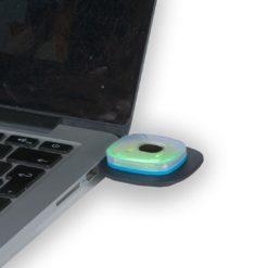Czapka z lampką LED Portwest B029 Ładowana przez USB czapka zimowa akrylowa ciepła ocieplana z latarką z lampką led naładowana
