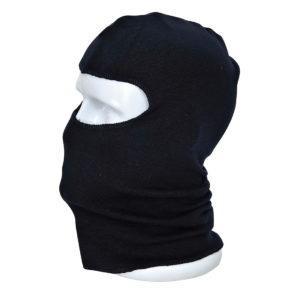 Kominiarka trudnopalna Portwest FR18 Antystatyczna antyelektrostatyczna kominiarka ochronna ciepła dla spawacza spawalnicza do spawania na głowę i szyję granatowa