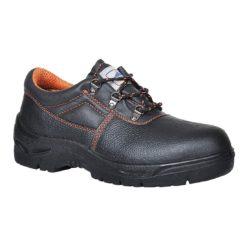 Półbuty robocze PORTWEST Steelite Ultra Safety S1P FW85 buty ochronne z podnoskiem z blachą czarne robocze obuwie antyprzebiciowe
