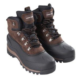 Śniegowce buty robocze Lahti PRO L30804 buty zimowe robocze wysokie trzewiki śniegowce na zimę obuwie bhp trapery ocieplane brązowe czarne tpr