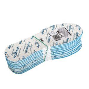 Wkładki do butów Antybakteryjne Lahti PRO L90303 do butów obuwnicze wkładki ochronne antygrzybiczne przeciwgrzybicze antyzapachowe bhp ochronne opakowanie