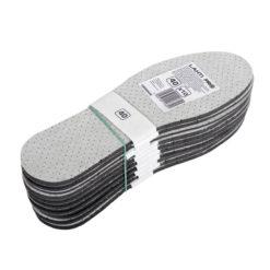 Wkładki do butów przeciwpotne Lahti PRO L90304 10 par wkładki przeciwpotowe antypotne na pot antyzapachowe z węglem aktywnym bhp do butów obuwie robocze opakowanie