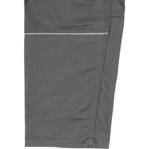 Spodnie do pasa Delta Plus Mach2 M2PA2 4 kolory spodnie ochronne do pasa w pas mocne robocze bhp z kieszeniami na nakolanniki do pracy ciuchy na guzik na pasek z odblaskiem bojówki wstawka odblaskowa