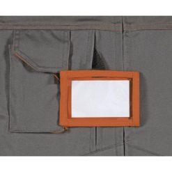 Spodnie do pasa Delta Plus Mach2 M2PA2 4 kolory spodnie ochronne do pasa w pas mocne robocze bhp z kieszeniami na nakolanniki do pracy ciuchy na guzik na pasek z odblaskiem bojówki kieszeń na identyfikator
