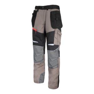 Spodnie Robocze do Pasa Lahti PRO L40509 spodnie mocne ochronne bhp do pracy ciuchy robocze wzmocnione w pas monterskie z kieszeniami premium dobre khaki piaskowe czarne