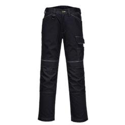 Spodnie Robocze Portwest T601 Urban do pasa w pas robocze ochronne mocne z kieszeniami na nakolanniki wzmacniane wysokiej jakości premium spodnie do pracy monterskie 10 kieszeni czarne