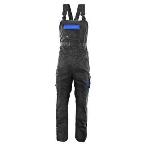 Spodnie Ogrodniczki Seven Kings Topaz szwedy na szelki spodnie robocze ochronne bhp do pracy ciuchy robotnicze mocne wzmacniane z szelkami czarne niebieskie mocne