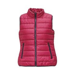 damska Kamizelka Cerva CRV Firth lady kamizelka bezrękawnik bluza pikowana ochronna ciepła na jesień z kieszeniami dwa kolory kontrastowa z wysokim kołnierzem cerva firt men first man firt różowa dla kobiet