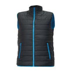 Kamizelka Cerva CRV Firth Man kamizelka bezrękawnik bluza pikowana ochronna ciepła na jesień z kieszeniami dwa kolory kontrastowa z wysokim kołnierzem cerva firt men first man firt czarna niebieska